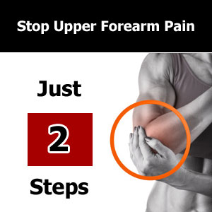 upper forearm pain