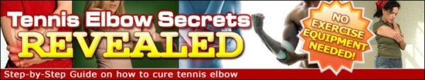 Tenniselbowsecretsrevealed – #1 Selling Tennis Elbow Home Treatment Program Since 2005