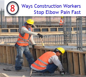 construction workers elbow pain