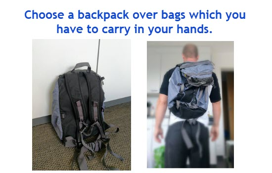 choose backpack