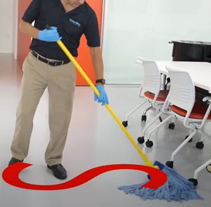 elbow pain mopping