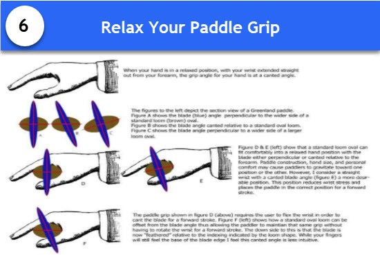 relax paddle grip